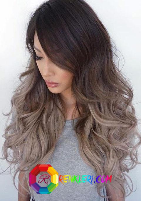 Saç renkleri renk paletleri biribirinden moda renk tonları, renklerin dili