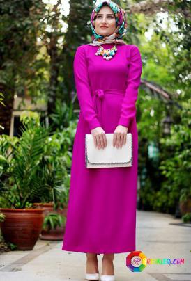 Galibarda rengi bayan kıyafet modelleri
